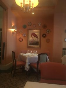 Photo of a dining room at Brennen's Restaurant New Orleans.
