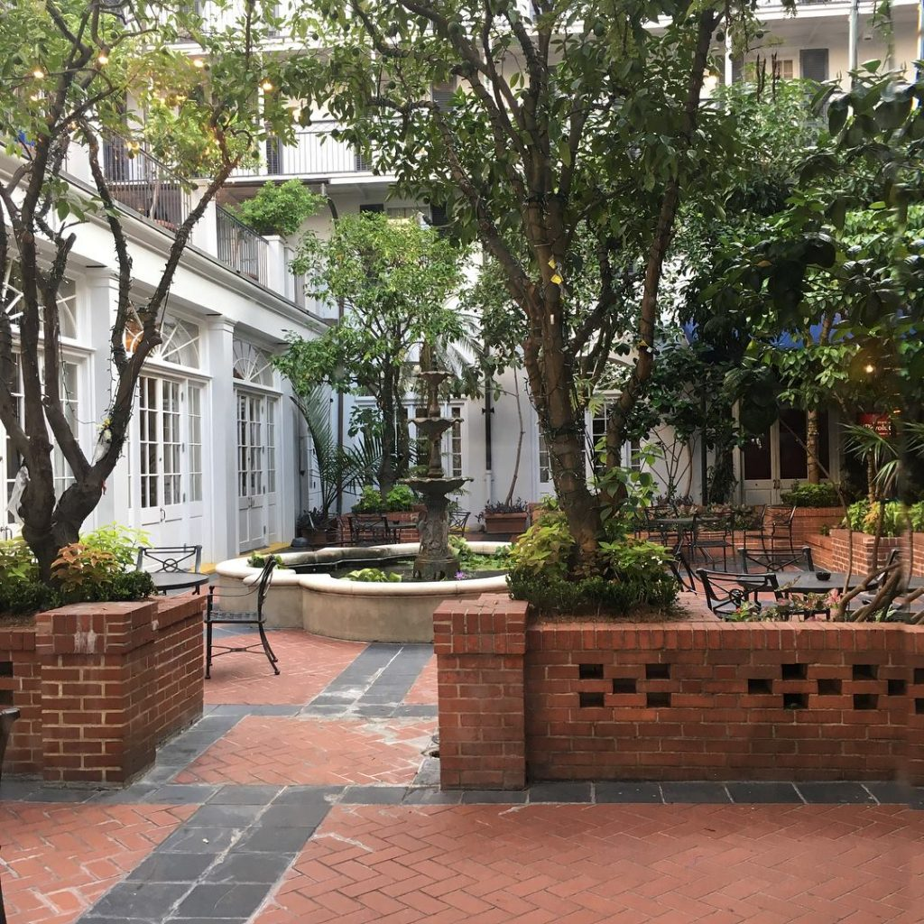 Courtyard within Royal Sonesta Hotel New Orleans