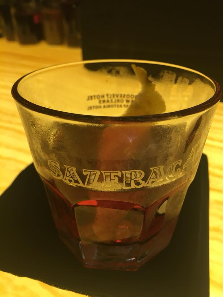 The Sazerac, a local New Orleans Drink