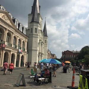 Street View of St. Louis Cathedral.