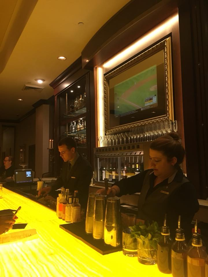 The bar in the Waldorf Astoria Hotel New Orleans