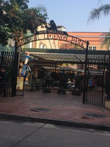 Photo of Entrance to Cafe Beignet in the Musical Legends Park.