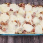 Photo of pasta bake.