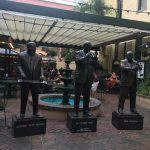 Photo of Statues of famous musicians at the Musical Legends Park in New Orleans.