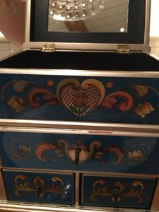 Photo of Sweets Box at R'evolution Restaurant in New Orleans.