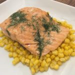 Photo of Baked Honey Dill Salmon.