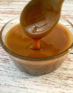 Photo of Caramel Sauce.