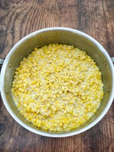 Photo of Creamed Corn.