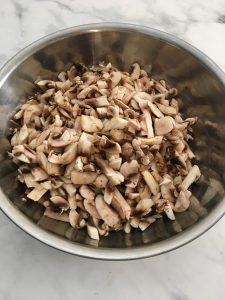 Photo of chopped Mushrooms