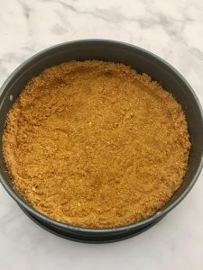 Photo of Graham Cracker Crust.