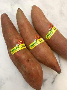 Photo of Organic Yams.