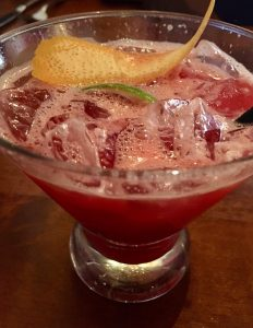 Photo of Blood Orange Caipirinha at Gabbi's Mexican Kitchen.