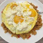 Photo of Leftover Rice Breakfast.