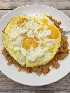 Photo of Leftover Rice Breakfast.