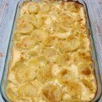 Photo of Scalloped Potatoes.