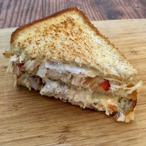 Photo of Spic Turkey Sandwich.