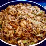 Photo of Thanksgiving Stuffing.