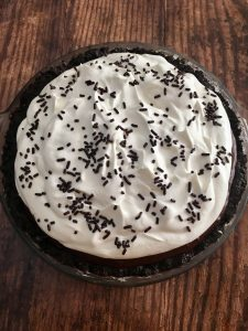 Photo of Chocolate Cream Pie.
