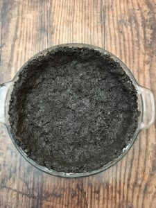 Photo of Oreo pie crust.