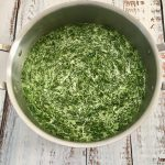Photo of Creamed Spinach.