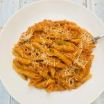Photo of Penne Alla Vodka Tomato Cream Sauce.