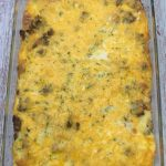 Photo of Sausage and Egg Breakfast Casserole.