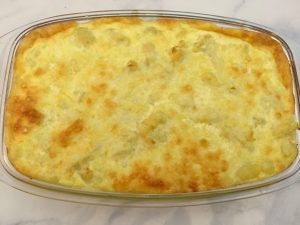 Cauliflower Casserole.