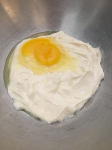 Mayo and egg.