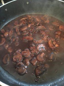 Marsala Mushroom Sauce.