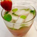 A Strawberry Mojito.