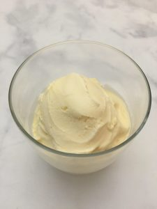 Vanilla Ice Cream.