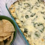 Spinach Artichoke Dip.