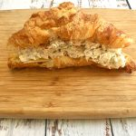 Chicken Salad Sandwich on a Croissant.