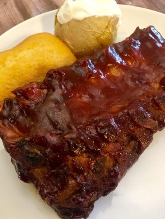 BBQ Ribs in the Oven.