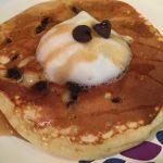 Photo of Chocolate Chip Pancakes.
