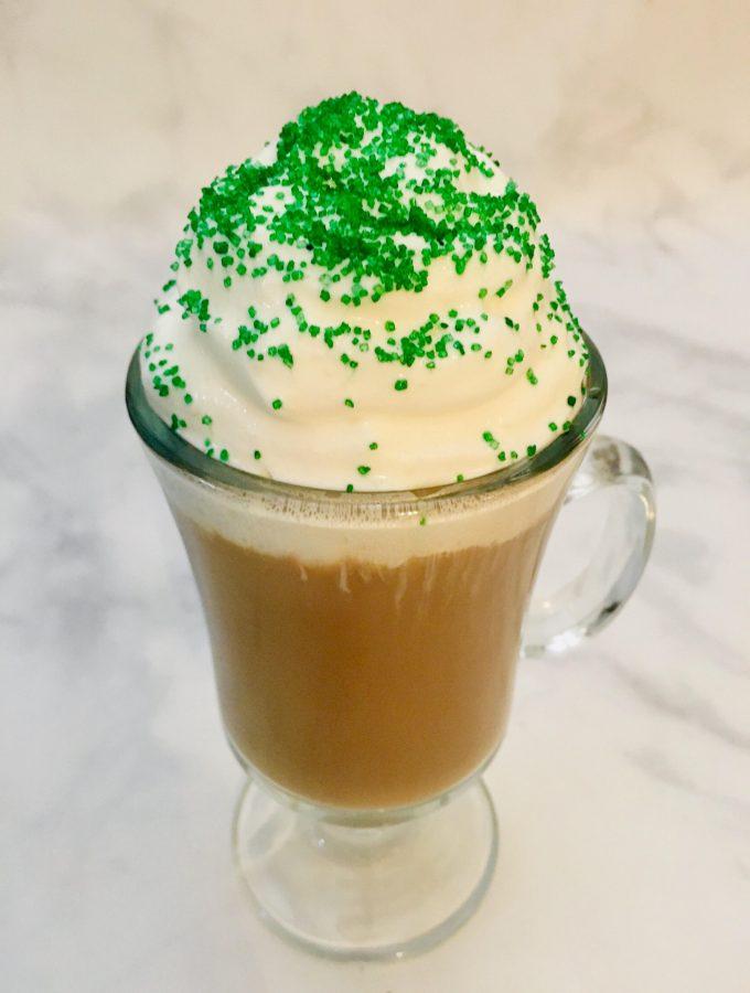 Irish Cream Coffee.