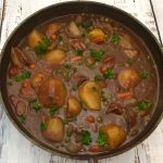 Classic Beef Stew with Potatoes.